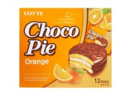 Печенье Lotte Choco Pie Orange 28gr
