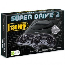 Sega Super Drive 2 Classic (130-in-1) Black.