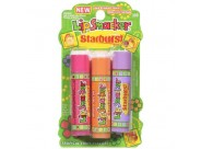 Lip Smacker Starburst Trio - Tropical Fruits -Lip Gloss 3 Pk